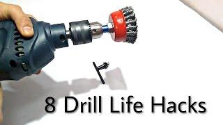 8 Drill Machine  Hacks..!