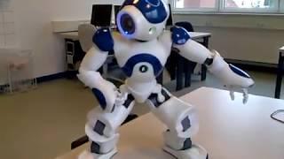 #x202b;شاهد الروبوت ناو بحركات قتالية - روبوت تعليمي Nao Robot Fighting#x202c;lrm;