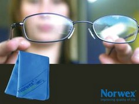 Norwex Microfiber Optic Cloth for Glasses, Cell Phones/Computers/CD's