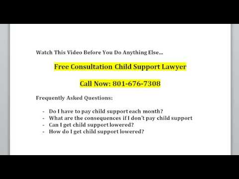 Free Consultation Child Support Lawyer Provo UT 801-676-7308 Free Consultation Child Custody Attorne