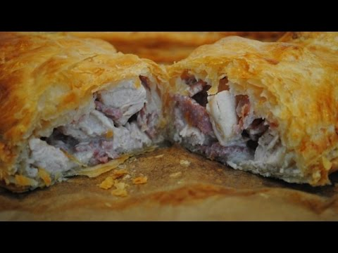 CHICKEN AND BACON PUFF PASTRY - Student Recipe