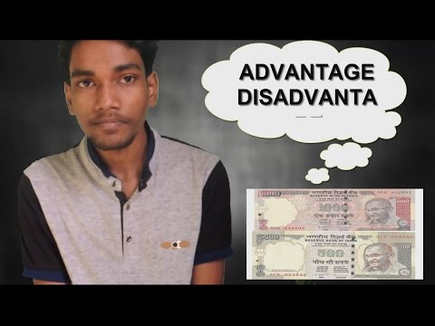 Banned Rs 500 & 1000 Notes | Advantages vs Disadvantages | Hindi/English | Public Openion