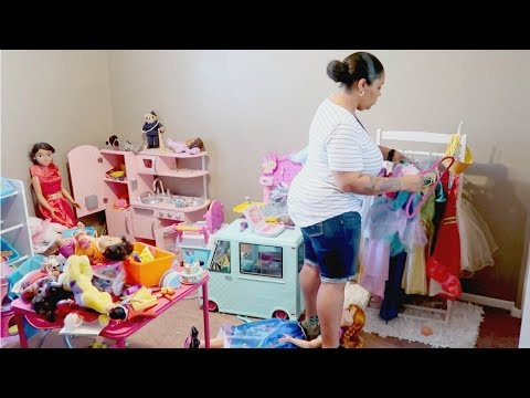 CLEANING PLAYROOM \\  SPEED CLEANING \\ CLEAN WITH ME