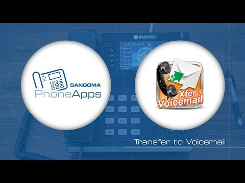 Sangoma PhoneApps: Transfer to Voicemail