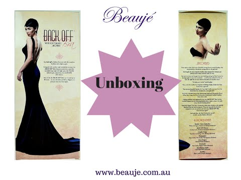 Back Off Bra Unboxing by Beauje - from Arianne