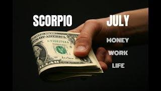 Scorpio July 2018 Money-work-life ~ Eclipses!