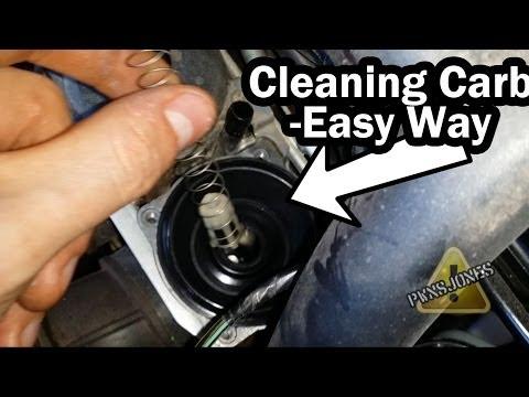 Sputtering / Dirty Carburetor Fix - Easy Way - Ninja 250