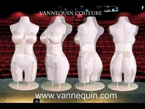 Vannequin™ Body Torso - Dress Form - Body Pillow