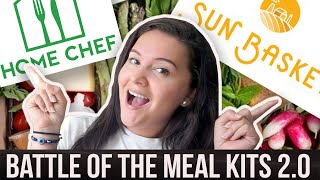 HOME CHEF VS SUN BASKET MEAL KIT REVIEW *NOT SPONSORED*