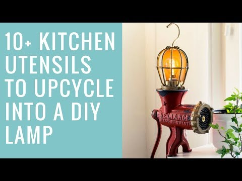 I Like That Lamp: Kitchen Utensils as DIY Lamps