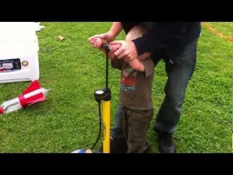 Launching Bottle Rockets