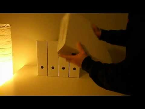 IKEA great ideas! How to make it Ikea FLYT magazine book file rack box