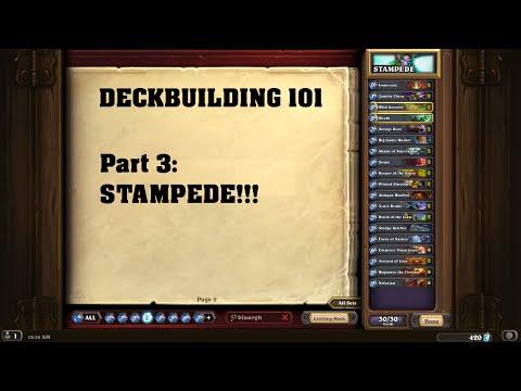 DECKBUILDING 101 Part #03: STAMPEDE!!! [German I Hearthstone]
