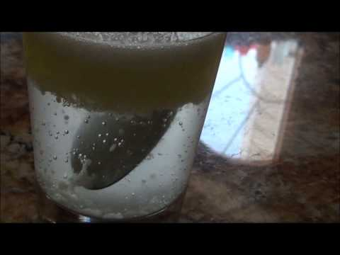 Vinegar, Oil, and Baking Soda Experiment