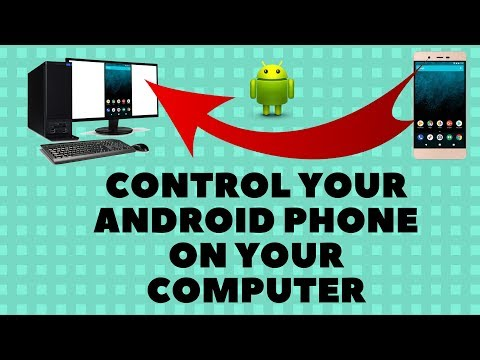 Control your Android Phone on Your Computer