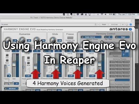 Using Harmony Engine Evo In Reaper - PakVim net HD Vdieos Portal