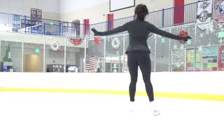20 Month Adult Ice Skating Progress