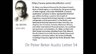 Dr. Peter Beter Audio Letter 54: American Defeat;Weather Modification; Russia - February 24, 1980