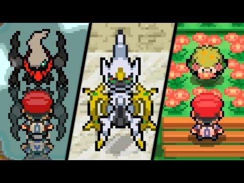 Pokémon Diamond / Pearl - All Mythical Pokémon Events