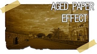 Photoshop Cs5 Aged Paper Effect Tutorial