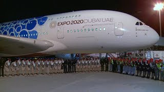 A Traditional Welcome at Osaka | A380 | Emirates Airline