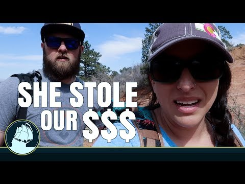 she STOLE OUR MONEY!!!