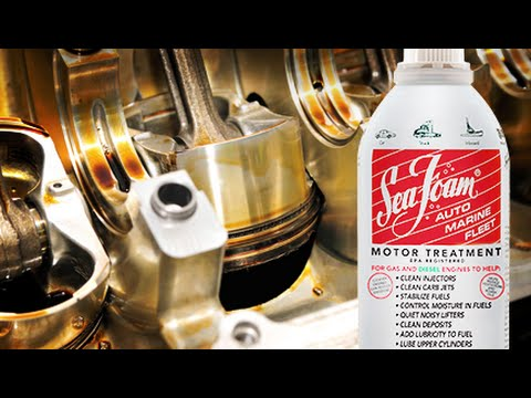 How to add Sea Foam Motor Treatment to crankcase oil
