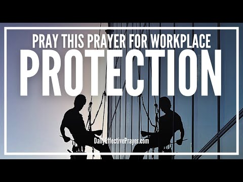 Prayer For Protection At Work - Angels Surround You