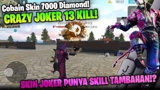 KEREN ABIS! Skin Joker Night Clown Review! Ada Ability Spesial? - Garena Free Fire