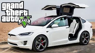 Gta V Real Life Cars Mods – Tesla Model 3 2018! - Love To