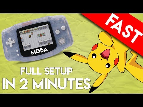 mGBA Emulator for PC: Full Setup and Play in 2 Minutes (The Game Boy Advance Emulator)