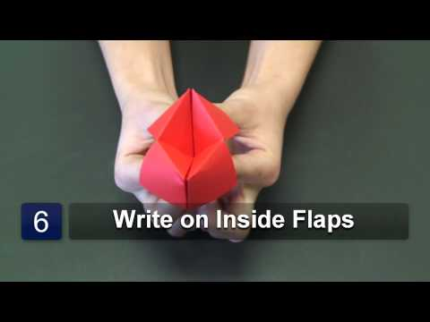 How to Fold an Origami Paper Game