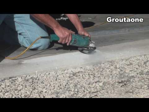 Fitting A Cement Pad To A Garage Door