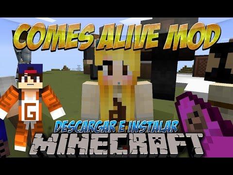Minecraft 1.12.2/1.10.2/1.9.4/1.8.9 - Descargar e Instalar Comes Alive Mod (Ten Hijos y Esposa)