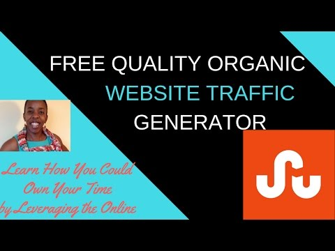 How to get free quality organic website traffic to your website | How you can improve site traffic