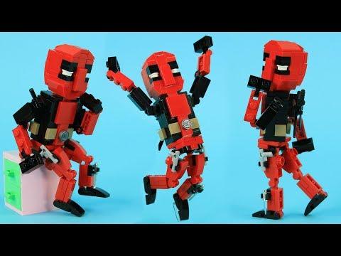 How to Build LEGO Deadpool | Custom LEGO Marvel MOC by BRICK 101