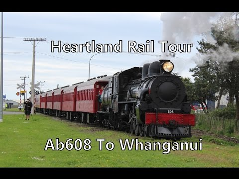 Heartland Rail Tour: Ab608 And the River City Express