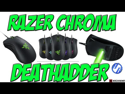 Razer Deathadder Chroma Gaming Mouse Unboxing & Setup