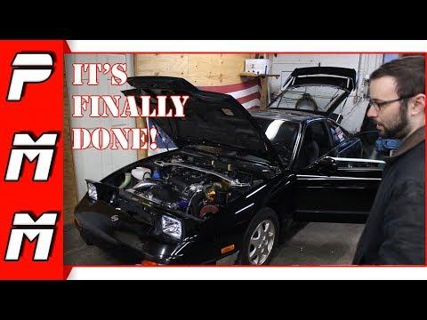 The Sr20 S13 240sx is finally finished! black top sr20det