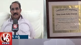 Educationalist Varaprasad Reddy Awarded With Doctorate From European Continental University  V6