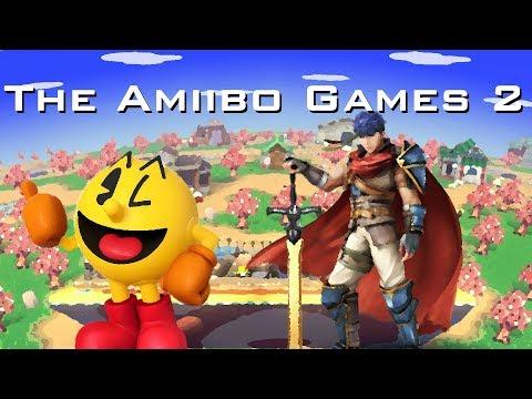 The Amiibo Games 2 - Semifinals Set 1   Grandpa (Pac-Man) vs. Ike Cream (Ike)