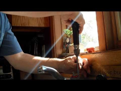 How to repair a leaky kitchen faucet