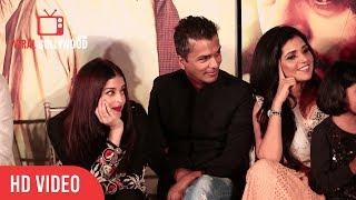 Aishwarya Cute Reaction On Nitya Joshi Speech At Hrudayantar Music Launch | Hrudayantar
