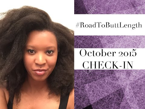 Waist Length Natural Hair: October 2015 Check In