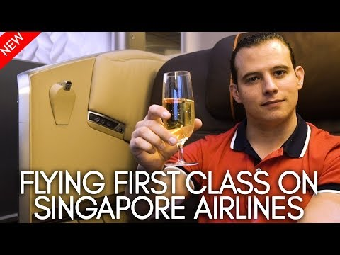 Flying first class on Singapore Airlines