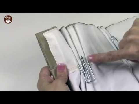 How to use Dritz Pleater Hooks (short)