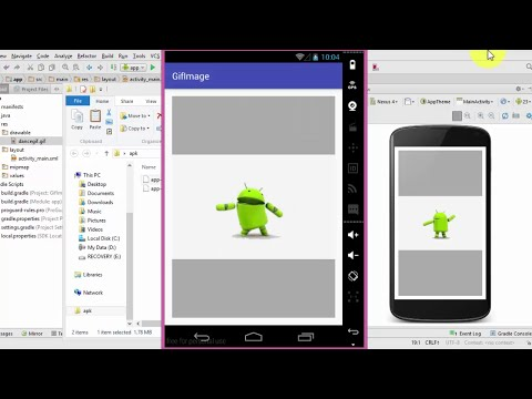 Make Gif Image App in Android Studio Very Easy