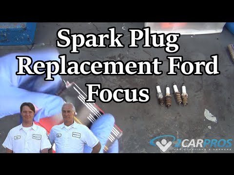 HOW TO REPLACE SPARK PLUGS! Ford Focus 1999-2007