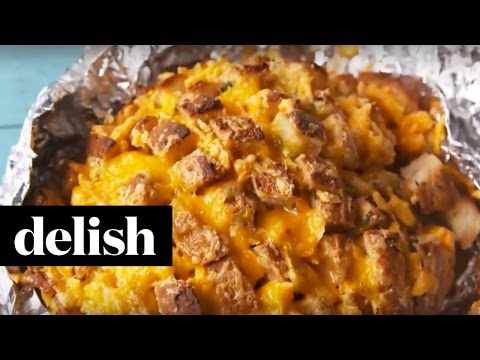 How To Make Guinness Cheesy Bread | Delish