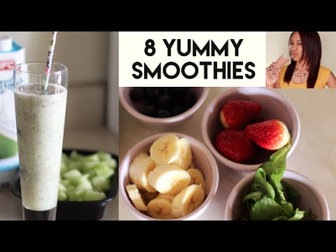 8 Energy Boosting Smoothies